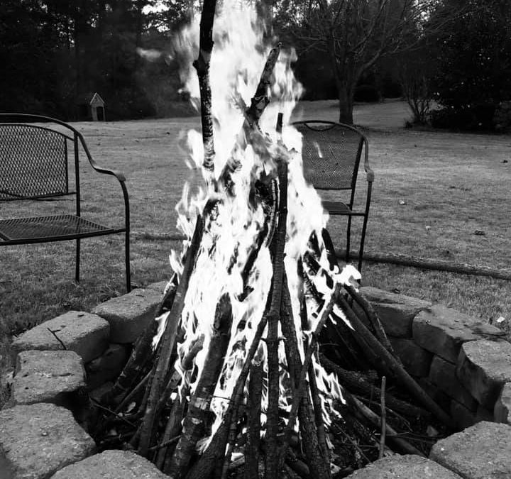 Camp Fire and Cook Out