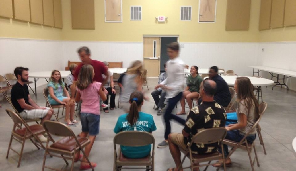 youth group musical chairs